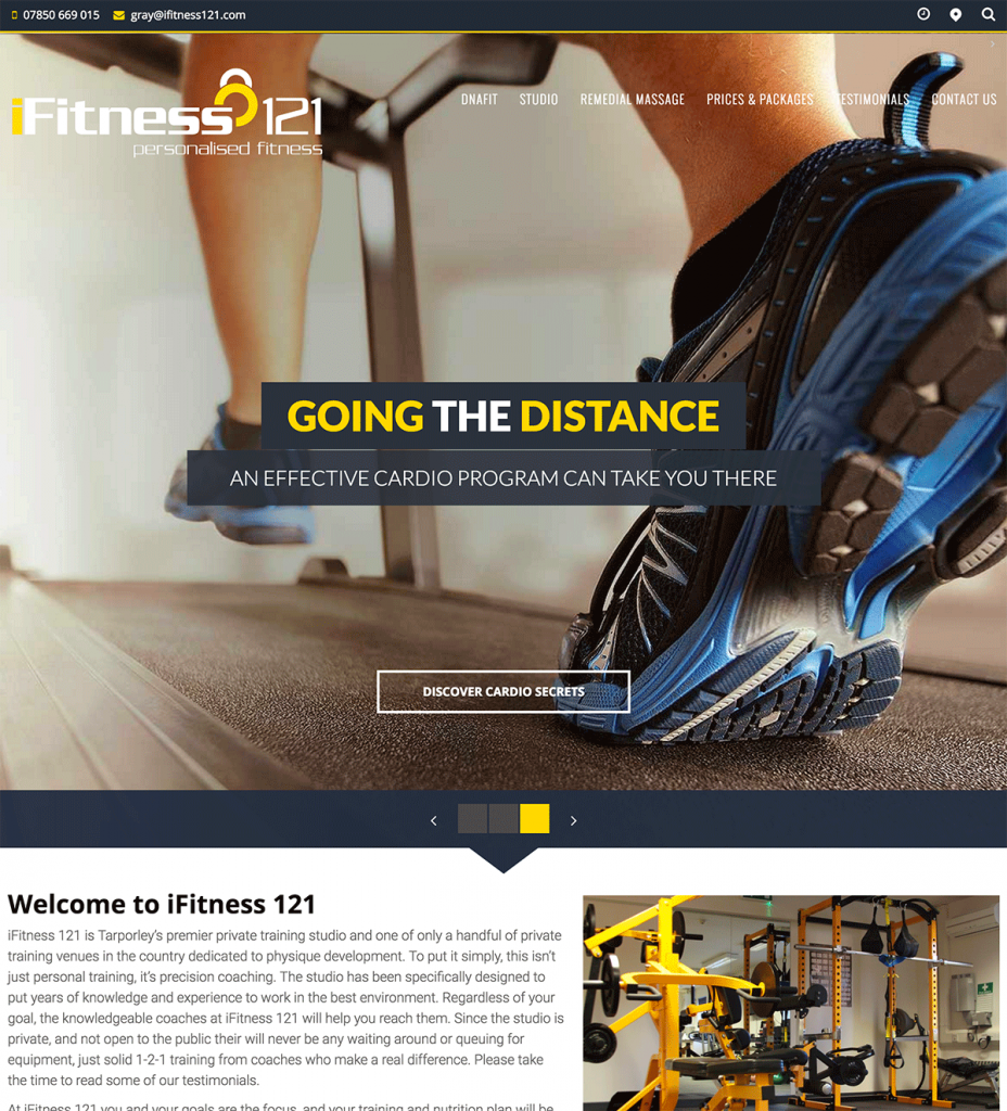 iFitness121 Personal Trainer